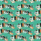 Coonhound Row by VieiraGirl