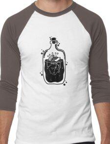 Heart in a bottle Men's Baseball ¾ T-Shirt