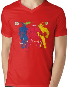 Pik MAN trio Mens V-Neck T-Shirt