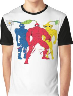 Pik MAN trio Graphic T-Shirt