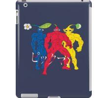 Pik MAN trio iPad Case/Skin