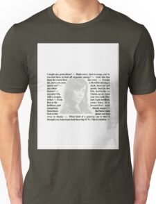 Torchwood Quotes - Gwen Cooper Unisex T-Shirt
