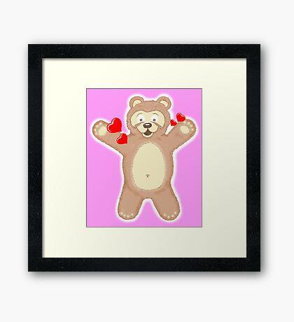 GIMME A HUG PLEASE!!! Framed Print