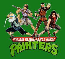 Italian Renaissance Ninja Painters by Mogar .