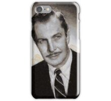 Vincent Price Hollywood Actor iPhone Case/Skin
