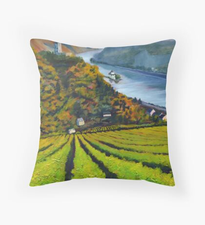 Germany #1 by artist Thomas Andrew Throw Pillow