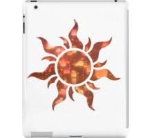 Flower Symbol Lanterns iPad Case/Skin