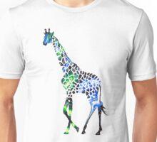 Galaxy Giraffe Unisex T-Shirt