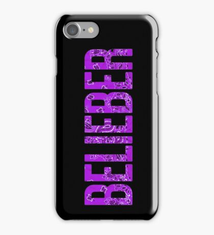 BELIEBER iPhone Case/Skin