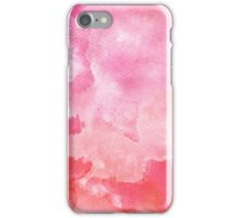 Pink Water Color iPhone Case/Skin