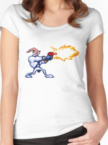 Earthworm Jim Women's Fitted Scoop T-Shirt