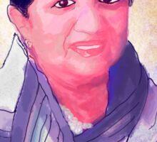 Lata Mangeshkar - Rangeela Re Sticker