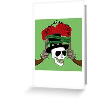 Paradise city Greeting Card