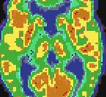 Minecraft Brain by ADHDDESIGN