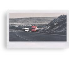 Coca Cola Truck Canvas Print