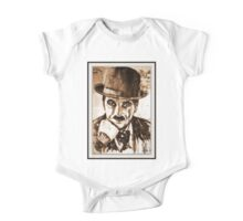old book drawing famous people cal One Piece - Short Sleeve
