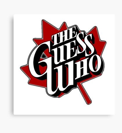 The Guess Who Canvas Print