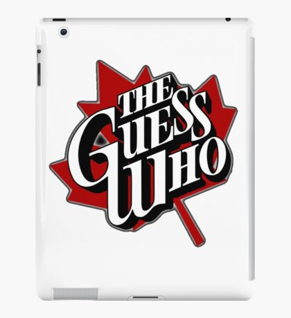 The Guess Who iPad Case/Skin