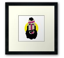 Sportive Guy Framed Print