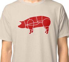cochon pig charcutier Classic T-Shirt