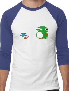 Dig Dug Men's Baseball ¾ T-Shirt