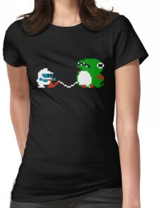Dig Dug Womens Fitted T-Shirt