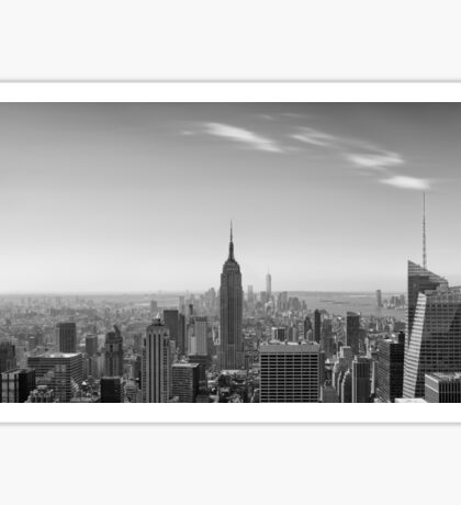 New York City - Empire State Building Panorama - 2015 Edition Sticker