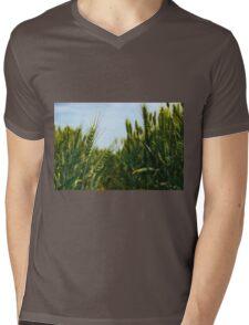 Wheat Field Mens V-Neck T-Shirt