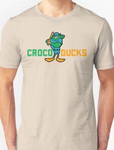 """""""CROCODUCK MASCOT"""" by Tai's Tees T-Shirt"""