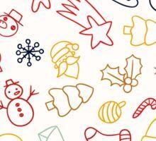 Christmas Decorative Pattern Sticker