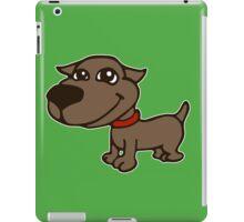 dog chien mignon humour cartoon iPad Case/Skin