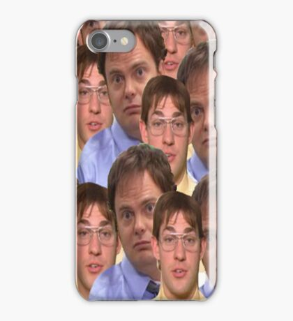 Jim as Dwight and Dwight as Jim iPhone Case/Skin