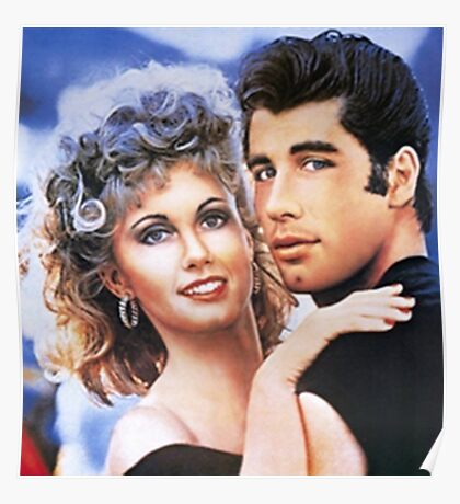 grease cartoon Poster