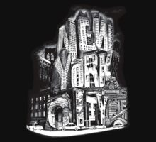 New York City Pencil by Tai's Tees by TAIs TEEs