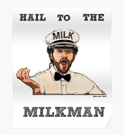 THE MILKMAN - JAKE AND AMIR Poster
