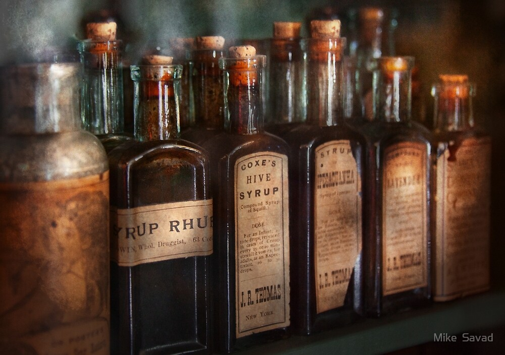Pharmacy - Syrup Selection  by Mike  Savad