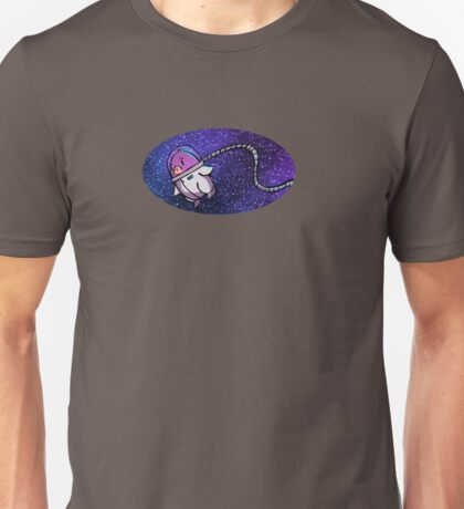 Penguin in Space Unisex T-Shirt