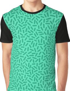 Blue Sprinkles Pattern  Graphic T-Shirt