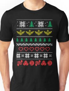 Zelda and the ungly christmas Unisex T-Shirt