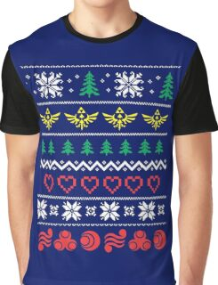 Zelda and the ungly christmas Graphic T-Shirt
