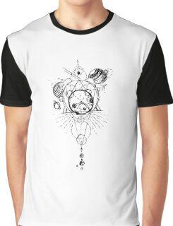 Geometric Space Graphic T-Shirt