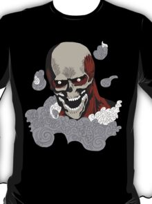 eren titan skeleton  T-Shirt