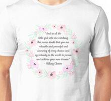 Hillary Clinton Concession Speech Quote Unisex T-Shirt