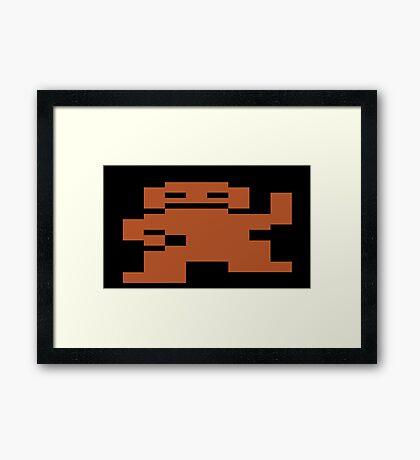 Donkey Kong Atari 2600 Framed Print