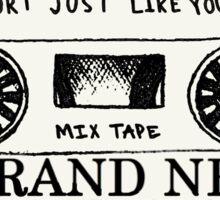 Brand New // Mix Tape Sticker