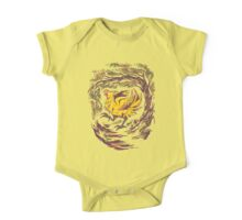 Chocobo with Blossoms One Piece - Short Sleeve