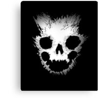 Emile Skull - Halo Reach Design Canvas Print