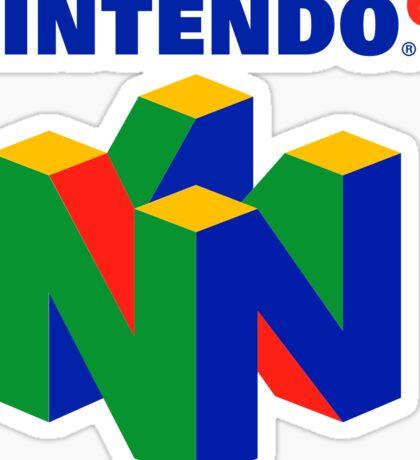 Nintendo 64 Sticker