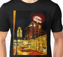 Des Moines in Red and Gold Unisex T-Shirt