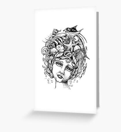 The Siren Greeting Card